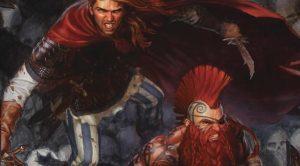 Gotrek a Felix s infuzí ve válce s Hadí královnou