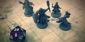 Dungeons & Dragons figurky