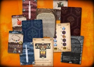 Isaac Childres – Gloomhaven karty