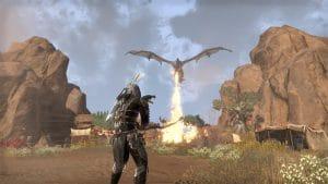 Elder Scrolls Online: Elsweyr fire