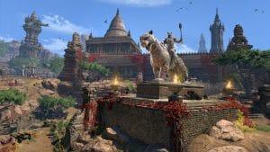 Elder Scrolls Online: Elsweyr prostředí