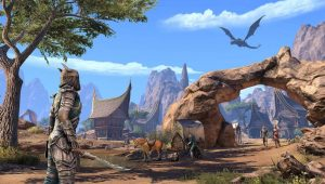 Elder Scrolls Online: Elsweyr dragon