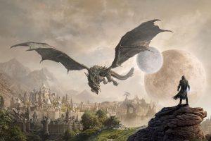 Elder Scrolls Online: Elsweyr wall