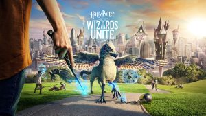 Harry Potter: Wizards Unite wall