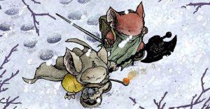 Myší hlídka: Hra na hrdiny mysaci