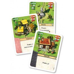Settlers: Zrod Impéria - karty