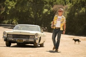 Once upon a time in Hollywood car