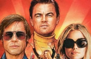 Once upon a time in Hollywood trio