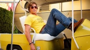 Once upon a time in Hollywood Brad