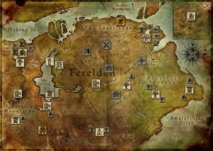 Dragon Age: Origins map