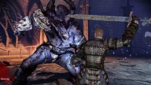 Dragon Age: Origins fight