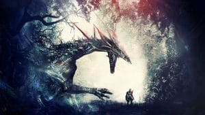 Dragon Age: Origins drak