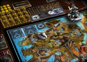 Lords of Hellas board