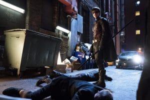 Titans; 1. série fight
