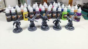 Warhammer barvy