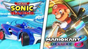 Team Sonic Racing Mario