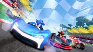 Team Sonic Racing kart