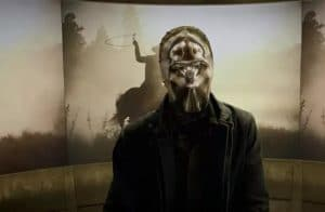 HBO Watchmen zrcadlo