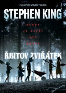 Stephen King: Řbitov Zviřátek obálka