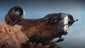 The Mandalorian - díl druhý ship