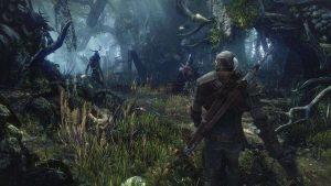 Zaklínač 3: Divoký hon Zaklinac v lese
