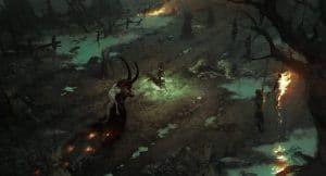 Diablo IV fire