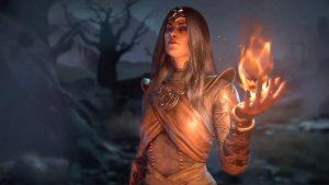 Diablo IV čarodějka