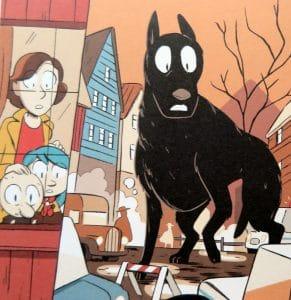 Hilda a černý pes