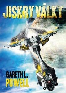 Gareth L. Powell: Jiskry války obálka