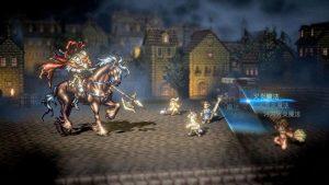 Octopath Traveler multi fight