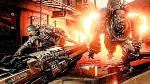 Wolfenstein: Cyberpilot roboti
