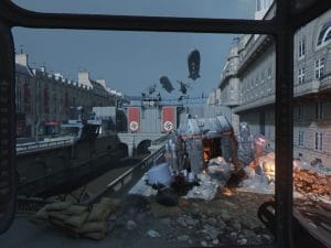 Wolfenstein: Cyberpilot trosky