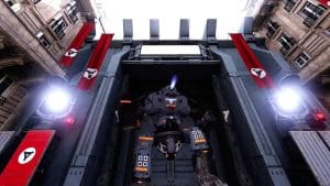 Wolfenstein: Cyberpilot dock