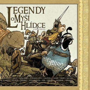 David Petersen: Legendy o Myší hlídce: Kniha druhá obálka