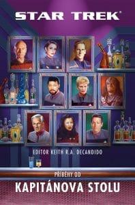 Keith R.A. DeCandido: Star Trek - Příběhy od kapitánova stolu obálka