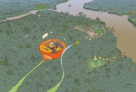 Moebius: Dlouhý zítřek a další příběhy - komiks, u kterého záleží jen na vašem očekávání, vztahu ke snům, drogám a halucinacím