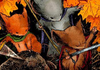 Fantasticky nádherný a obrovský myší svět plný legend, hrdinů a nestvůr pro děti, které nedorostly Pánovi prstenů