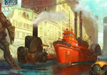 Timeless: steampunk i moderna ve světě plném robotů, dinosaurů, páry a pirátů. V příběhu pro malé i dospělé