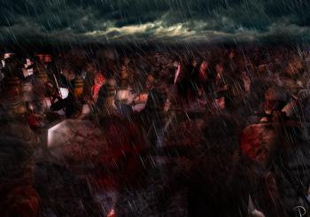Královští rytíři se postaví přesile lidožravých obrů, upírů, vlkodlaků a nemrtvých. V Tamuli přichází čas temnoty