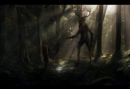 Bůh Černého lesa: temný svět příběhů, který vás seznámí s prastarým bohem, vlkodlaky, démony a dystopickou budoucností plnou androidů