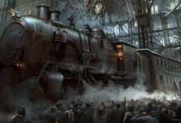 Staňte se železničním magnátem v steampunkovém výletu do Gulliverovy země ležící na stole plném peněz