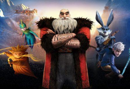 Santa Claus, víla Zuběnka, Sandman aJack Frost jako drsná Legendární parta v bitvě se stíny v animáku pro děti i dospělé