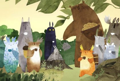 Jak tukoni zachránili strom: magická kniha pro děti i rodiče, která vám otevře svět kouzelných lesních skřítků v nádherných ilustracích