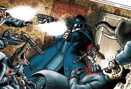 Nejlepších steampunkovou detektivku najdeme v Grandville Briana Talbota, který vás okouzlí viktoriánským světem dobrodružství a páry