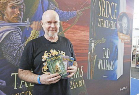 Tad Williams: rozhovor s nástupcem Tolkiena o moderní fantasy, nedokončené Hře o trůny, práci na Aquamanovi a i radách, jak uspět jako spisovatel