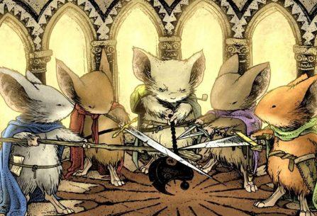 Myší hlídka: hra na hrdiny - gamebook, který vás vtáhne do kouzelného zvířecího světa fantasy myšího Pána prstenů