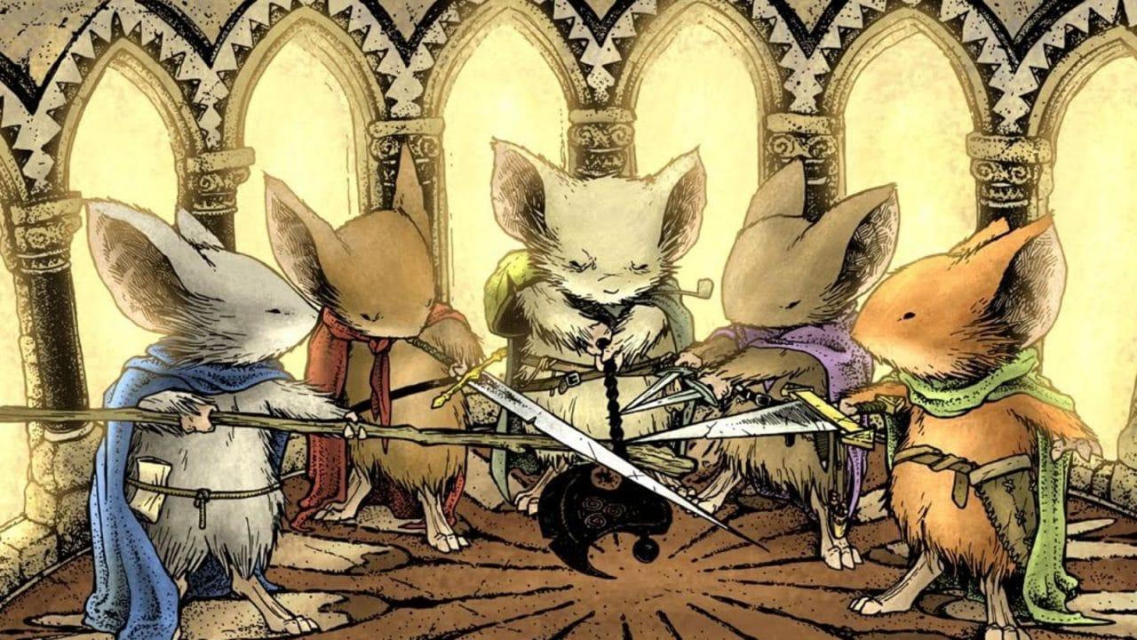 Myší hlídka: Hra na hrdiny cover