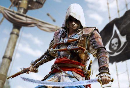 Assassin´s Creed: Černá vlajka přináší líté námořní bitvy, bezcitné piráty a potoky rumu v novém pojetí celé knižní série