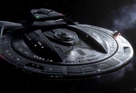 Přes dravé moře: příběh ze světa Star Treku, který vás přenese na neznámou planetu podmořských zázraků, kde nic není, jak se zdá