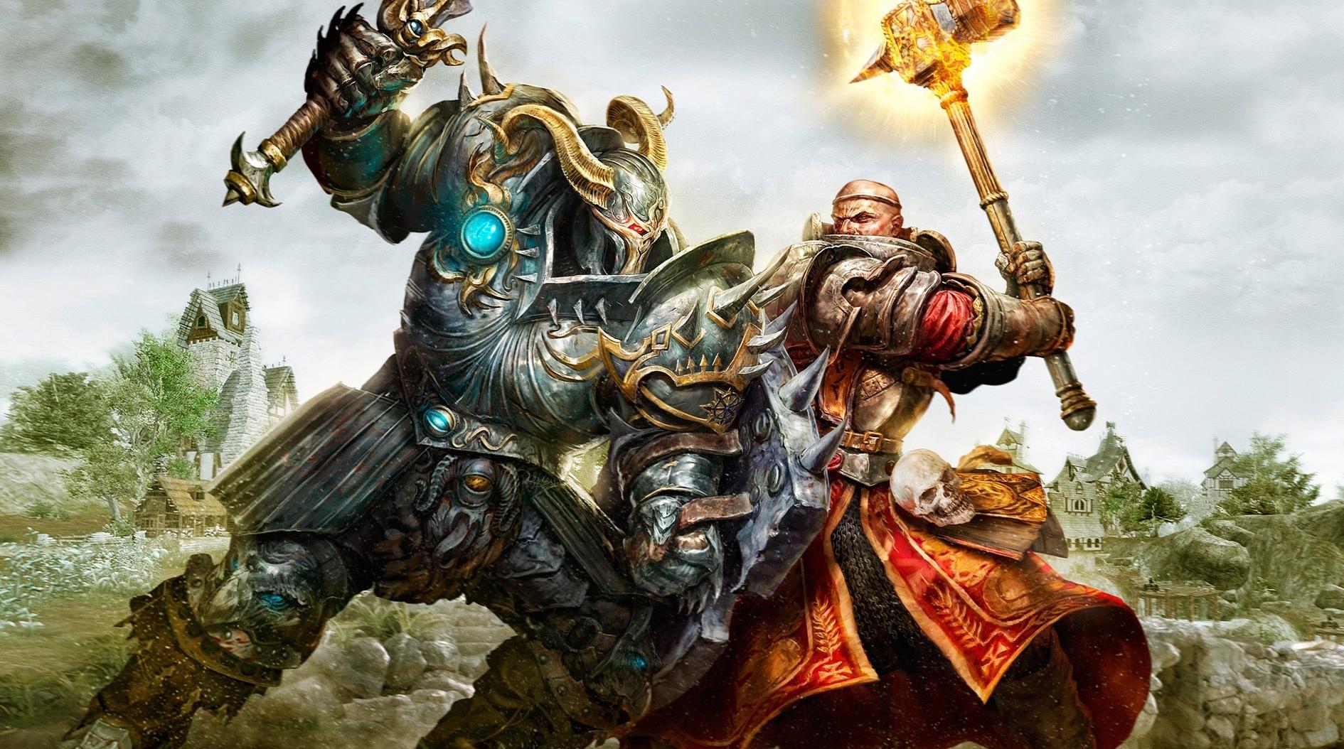 Warhammer fight